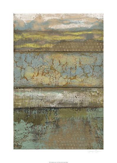 Segmented Textures I-Jennifer Goldberger-Limited Edition