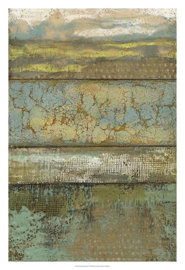 Segmented Textures I-Jennifer Goldberger-Premium Giclee Print
