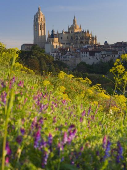 Segovia, Castilla Y Leon, Spain-Peter Adams-Photographic Print