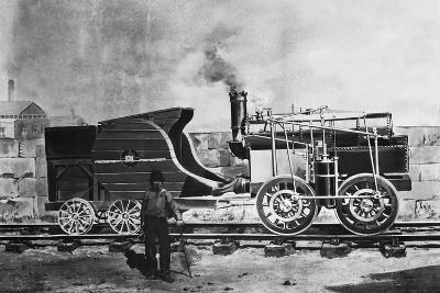 Seguin's Locomotive 1827--Giclee Print