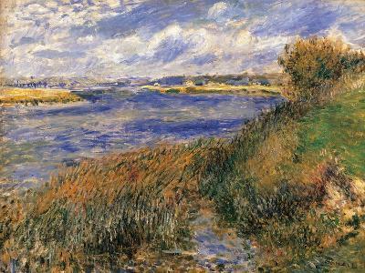 Seine at Champrosay-Pierre-Auguste Renoir-Art Print