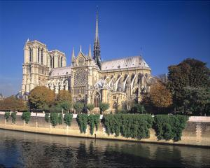 Seine River Notre Dame, Paris