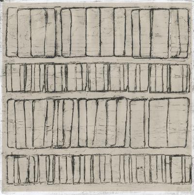 Seismic Rows I-Jenna Guthrie-Art Print