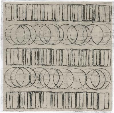 Seismic Rows IV-Jenna Guthrie-Art Print