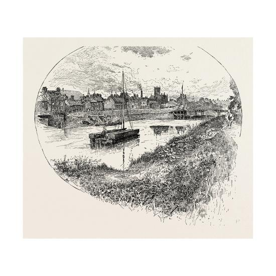 Selby, a Town and Civil Parish in North Yorkshire, England, UK--Giclee Print