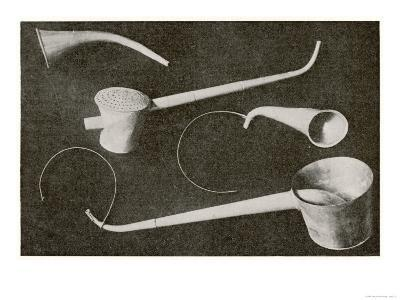 Selection of Beethoven's Hearing Aids--Giclee Print
