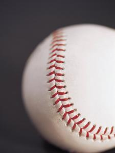 Selective Focus of a Cropped Baseball