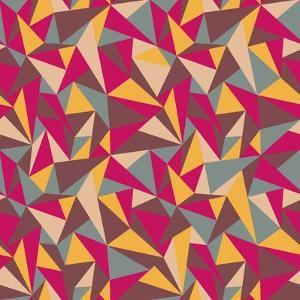 Abstract Geometric Colorful Pattern by SelenaMay