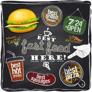 Best Fast Food Here by Selenka