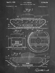 Self Digging Military Tank Patent