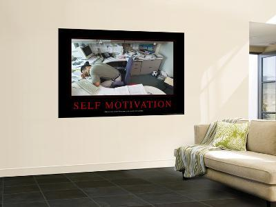 Self Motivation--Wall Mural