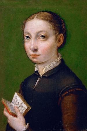 Self-Portrait, 1554-Sofonisba Anguissola-Giclee Print