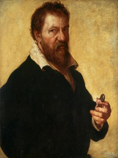 Self-Portrait, 1566-Lambert Lombard-Giclee Print
