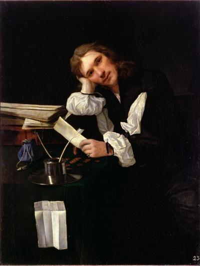 Self Portrait, 1656-Michael Sweerts-Giclee Print