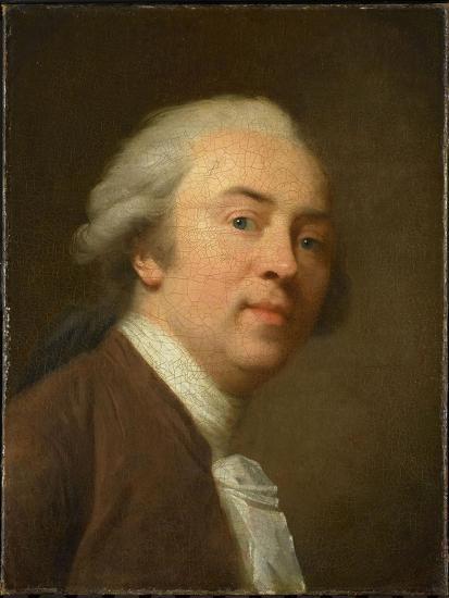 Self-Portrait, 1782-Johann Friedrich August Tischbein-Giclee Print
