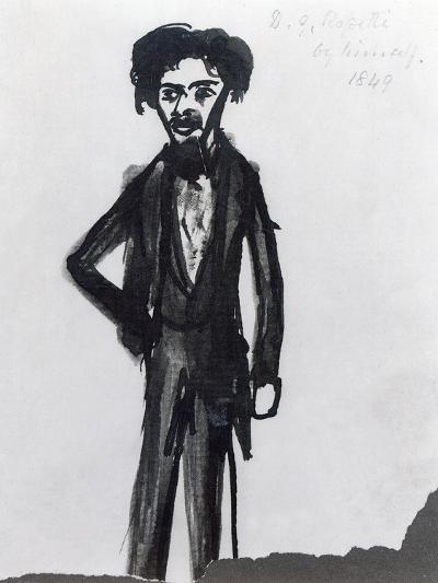 Self Portrait, 1849-Dante Gabriel Rossetti-Giclee Print