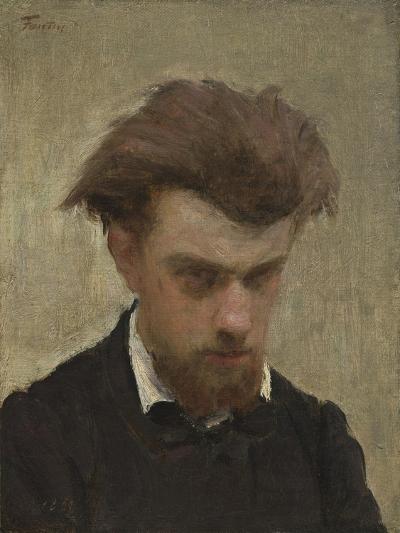 Self-Portrait, 1861-Ignace Henri Jean Fantin-Latour-Giclee Print
