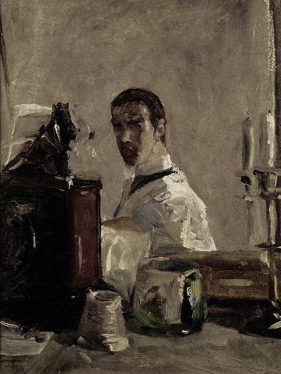 Self Portrait, 1880-Henri de Toulouse-Lautrec-Giclee Print