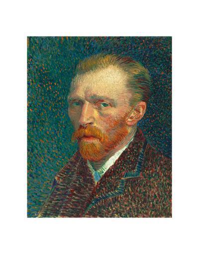Self Portrait, 1887-Vincent van Gogh-Art Print