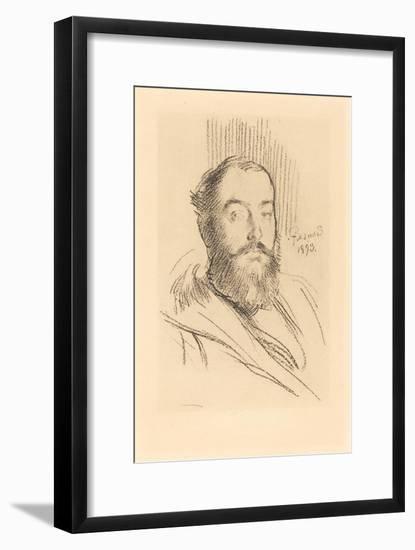 Self-Portrait, 1893-Paul Albert Besnard-Framed Giclee Print