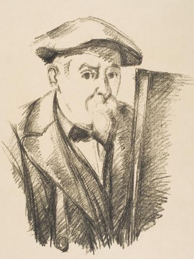 Self-Portrait, 1896-97-Paul C?zanne-Giclee Print