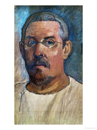 Self-Portrait, 1903-Paul Gauguin-Giclee Print
