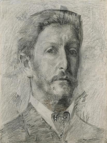 Self-Portrait, 1904-1905-Mikhail Alexandrovich Vrubel-Giclee Print