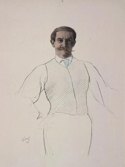 Self-Portrait, 1906-Leon Bakst-Giclee Print