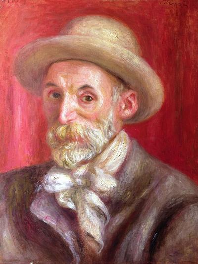 Self Portrait, 1910-Pierre-Auguste Renoir-Giclee Print