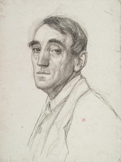 Self Portrait, 1916-Theo van Rysselberghe-Giclee Print