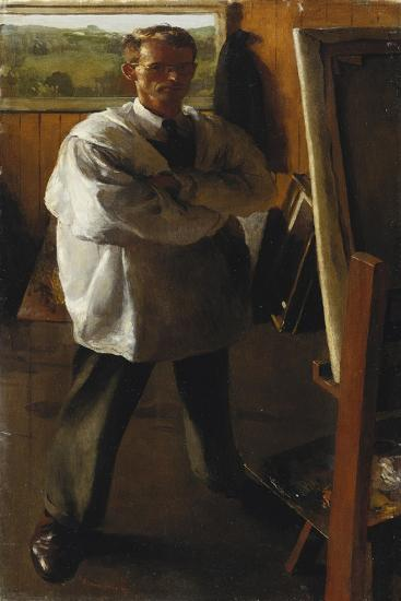 Self Portrait, 1947-Dennis William Dring-Giclee Print