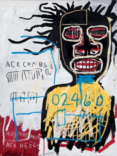 Self-Portrait as a Heel-Jean-Michel Basquiat-Giclee Print