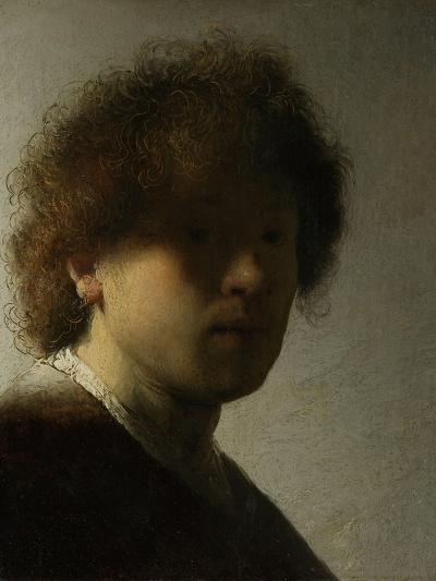 Self Portrait as a Young Man, C.1628-Rembrandt van Rijn-Giclee Print