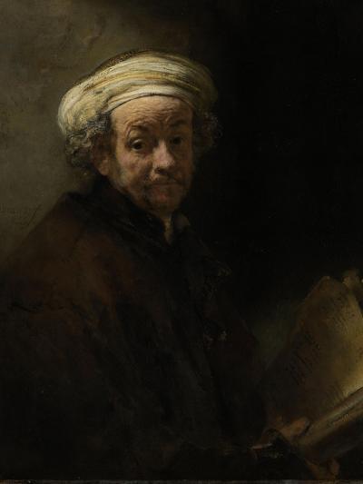Self Portrait as the Apostle Paul, 1661-Rembrandt van Rijn-Giclee Print