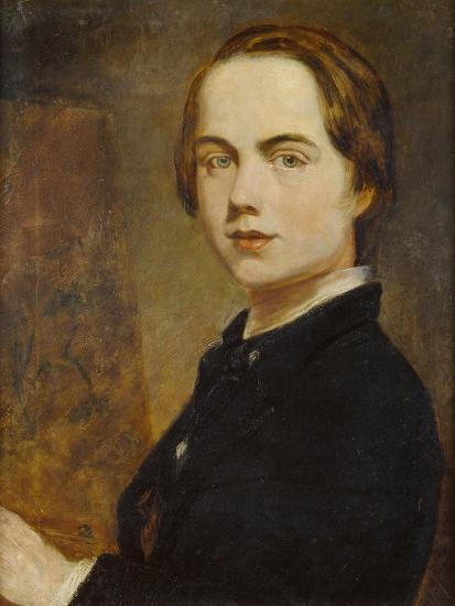 Self-Portrait at the Age of 14, 1841-William Holman Hunt-Giclee Print