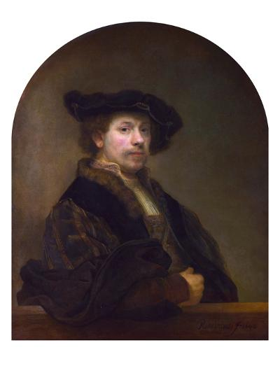 Self Portrait at the Age of 34-Rembrandt van Rijn-Giclee Print