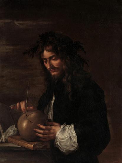 Self-Portrait, c.1647-Salvator Rosa-Giclee Print