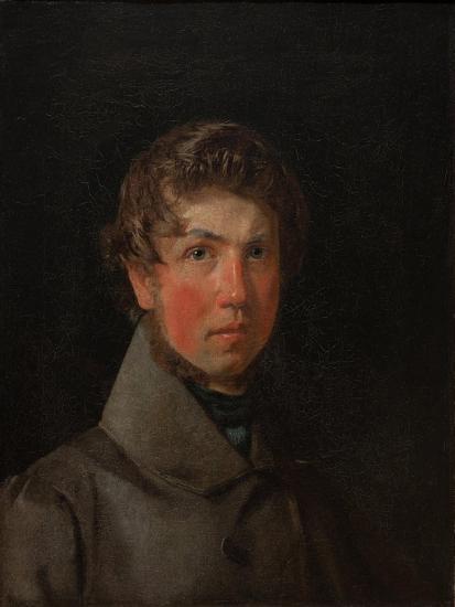 Self-Portrait, C.1833-Christen Schiellerup K?bke-Giclee Print