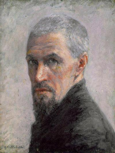 Self Portrait, c.1889-Gustave Caillebotte-Giclee Print