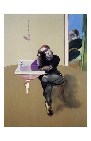 Self-Portrait, c.1973-Francis Bacon-Art Print