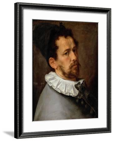 Self-Portrait, Ca 1580-1585-Bartholomeus Spranger-Framed Giclee Print