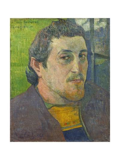 Self-Portrait Dedicated to Carriere, 1888-89-Paul Gauguin-Giclee Print