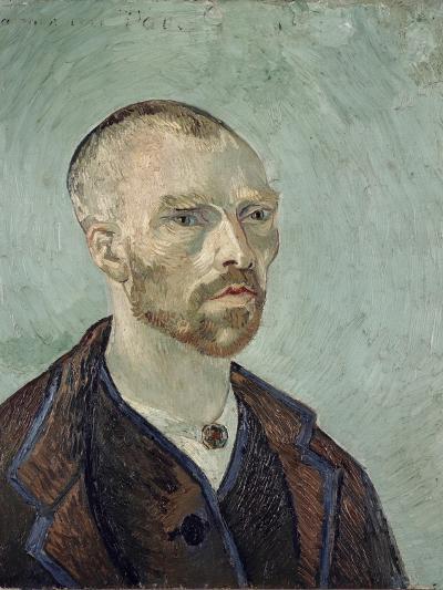 Self-Portrait Dedicated to Paul Gauguin, c.1888-Vincent van Gogh-Giclee Print
