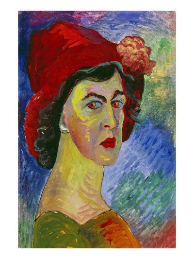 Self Portrait I., About 1908-Marianne von Werefkin-Giclee Print