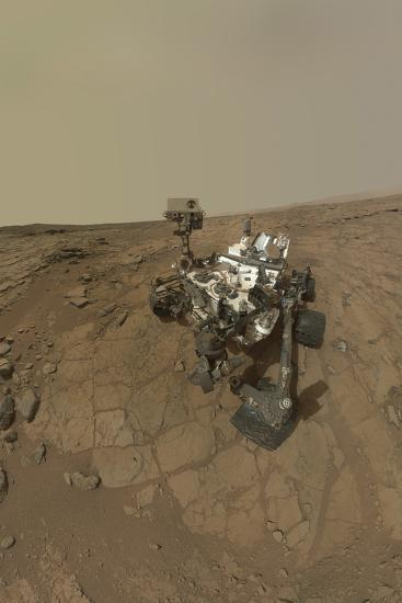 Self-Portrait of Curiosity Rover on the Surface of Mars--Photographic Print