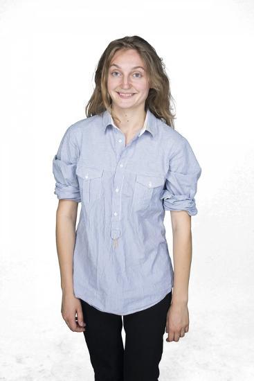 Self Portrait of Smiling Woman-Bojan Brecelj-Photographic Print