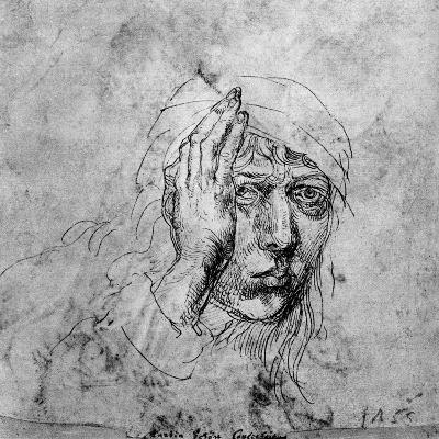 Self Portrait with a Bandage, 1492-Albrecht Durer-Giclee Print