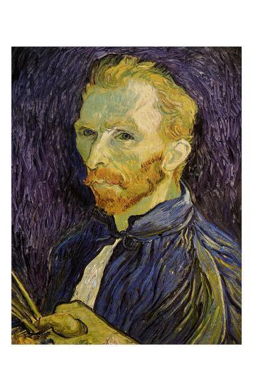 Self-Portrait-Vincent van Gogh-Art Print