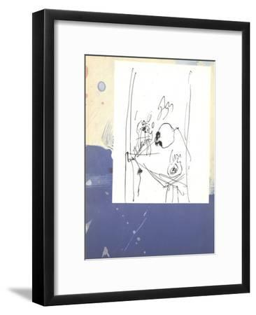 Self Portrait-Paul Rebeyrolle-Framed Premium Edition