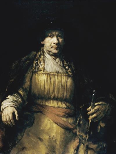 Self Portrait-Rembrandt van Rijn-Giclee Print